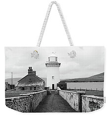 Ballyglass Lighthouse Mono Weekender Tote Bag