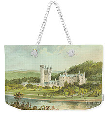 Balmoral Castle, Scotland Weekender Tote Bag