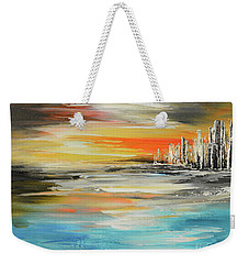 Balmy Night In Valparaiso Weekender Tote Bag