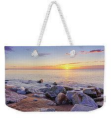 Weekender Tote Bag featuring the photograph Baltic Sunrise by Dmytro Korol