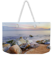 Weekender Tote Bag featuring the photograph Baltic Zen by Dmytro Korol