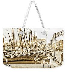 Baltimore Harbor 1900 Vintage Photograph Weekender Tote Bag