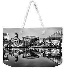 Baltimore In Black And White Weekender Tote Bag