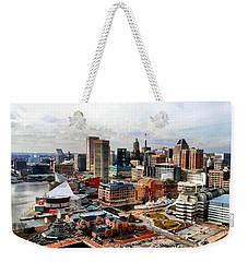Baltimore Inner Harbor Weekender Tote Bag