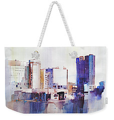 Baltimore Plaza Weekender Tote Bag by P Anthony Visco
