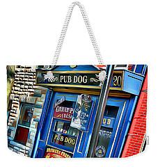 Baltimore Pub Dog Weekender Tote Bag