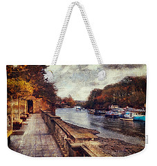 Balustrades And Boats Weekender Tote Bag