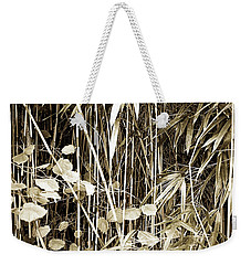 Bamboo And Gingko Weekender Tote Bag by Hugh Smith