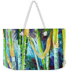 Bamboo Delight Weekender Tote Bag