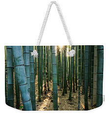 Bamboo Forest At Arashiyama Weekender Tote Bag