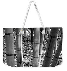 Bamboo In The Shade Weekender Tote Bag