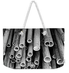 Weekender Tote Bag featuring the photograph Bamboo  by Jingjits Photography