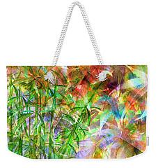 Bamboo Paradise Weekender Tote Bag