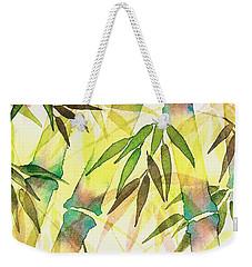 Bamboo Sunrise Weekender Tote Bag