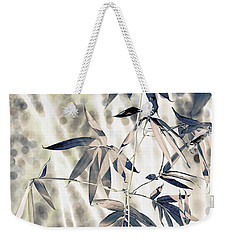 Bamboo Weekender Tote Bag by Wayne Sherriff