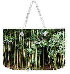 Bamboo Wind Chimes  Waimoku Falls Trail  Hana  Maui Hawaii Weekender Tote Bag