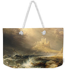 Bamborough Castle Weekender Tote Bag by Willliam Andrews Nesfield