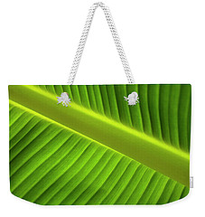Banana Leaf Weekender Tote Bag by Robert Och