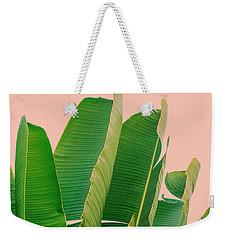 Banana Leaves Weekender Tote Bag by Rafael Farias
