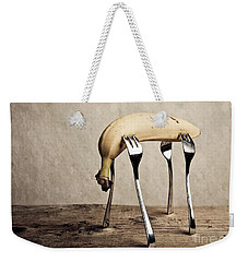 Banana Weekender Tote Bag by Nailia Schwarz