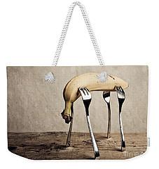 Banana Weekender Tote Bag by Nailia Schwarz