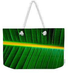 Banana Plant Leaf Weekender Tote Bag