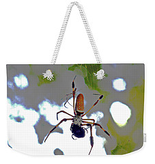 Banana Spider Lunch Time 1 Weekender Tote Bag