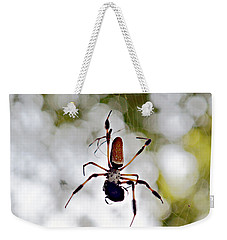 Banana Spider Lunch Time 2 Weekender Tote Bag