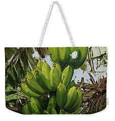 Banana Tree Weekender Tote Bag by Chonkhet Phanwichien