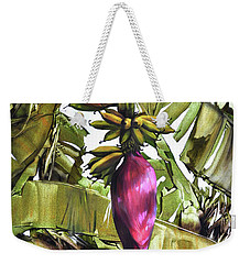 Banana Tree No.2 Weekender Tote Bag by Chonkhet Phanwichien