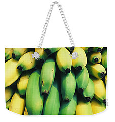 Bananas Weekender Tote Bag by Happy Home Artistry