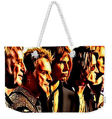 Band Who Weekender Tote Bag
