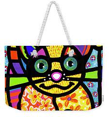 Bandit The Lemur Cat Weekender Tote Bag