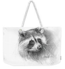 Bandit The Raccoon Weekender Tote Bag