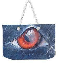 Eye Of The Bandit Weekender Tote Bag