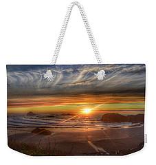 Bandon Sunset Weekender Tote Bag