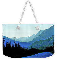 Banff Jasper Blue Weekender Tote Bag