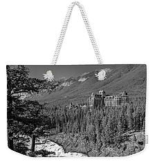 Banff Springs Hotel Weekender Tote Bag