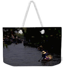 Bangkok Floating Market Weekender Tote Bag