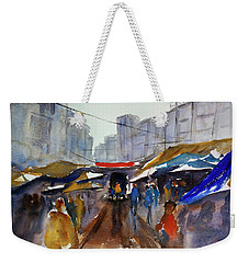 Bangkok Street Market Weekender Tote Bag