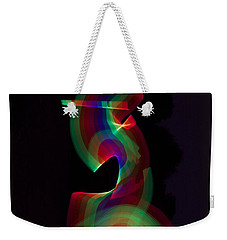 Banished By Light Weekender Tote Bag