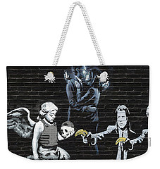 Banksy - Failure To Communicate Weekender Tote Bag