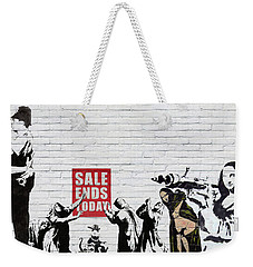 Banksy - Saints And Sinners   Weekender Tote Bag