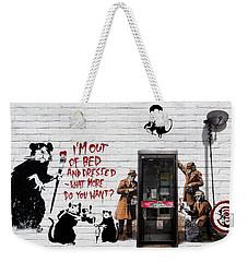 Banksy - The Tribute - Rats Weekender Tote Bag