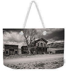 Weekender Tote Bag featuring the photograph Bannack Montana Ghost Town by Scott Read