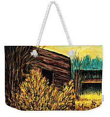 Bannack, Mt Ghost Town  Weekender Tote Bag