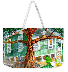 Banyan In The Backyard Weekender Tote Bag