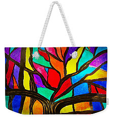 Banyan Tree Abstract Weekender Tote Bag