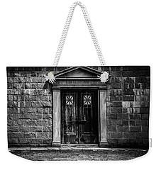 Bar Across The Door Weekender Tote Bag by Bob Orsillo