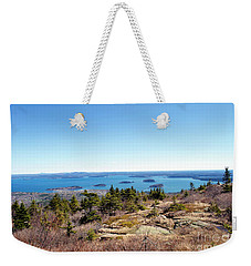 Bar Harbor From Cadillac Weekender Tote Bag